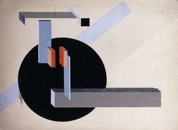 Konsttryck Proun N 89 (Kilmansvaria), c.1925