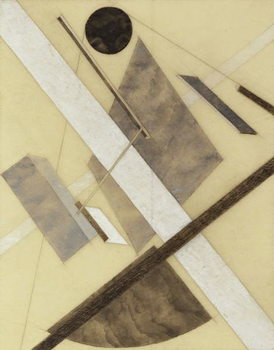 Konsttryck Proun: Path of Energy and Dynamic Flows, c.1920