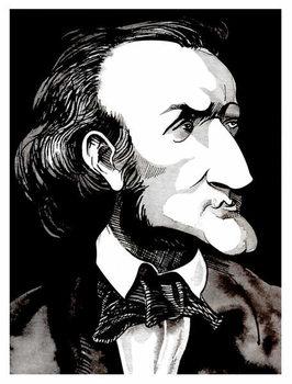 Konsttryck Richard Wagner, by Neale Osborne