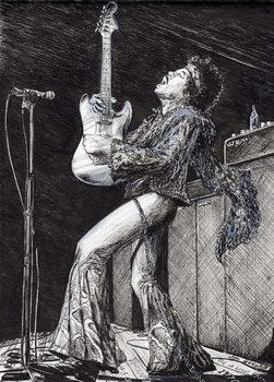 Konsttryck Rock Star, 2009,