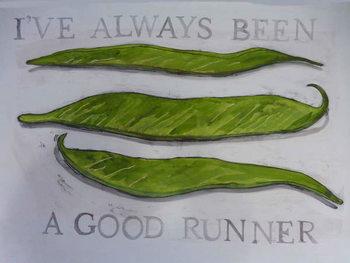 Konsttryck Runner Beans,2013