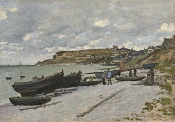Konsttryck Sainte-Adresse, 1867