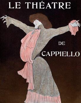 Konsttryck Sarah Bernhardt