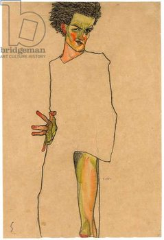 Konsttryck Self portrait, 1910