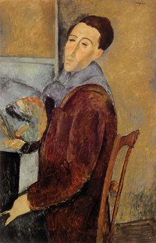 Konsttryck Self Portrait, 1919