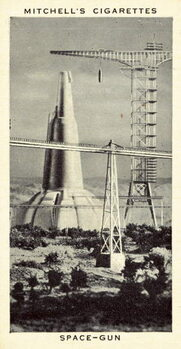 Konsttryck Space-Gun