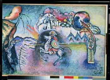 Konsttryck St. George, 1914-15