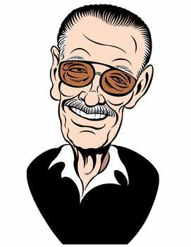 Konsttryck Stan Lee