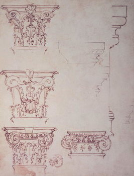 Konsttryck Studies for a Capital