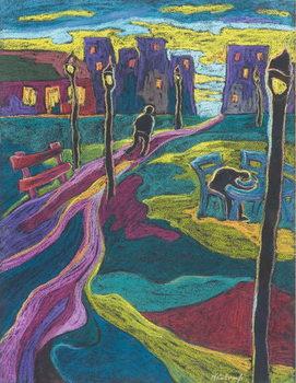 Konsttryck Suburbia, 2006