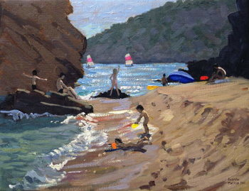 Konsttryck Summer in Spain, 2000