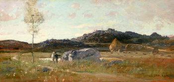 Konsttryck Summer Landscape