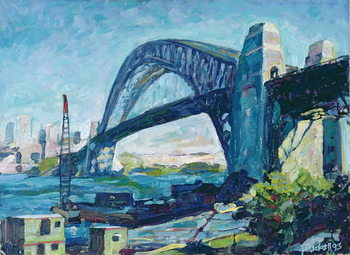 Konsttryck Sydney Harbour Bridge, 1995
