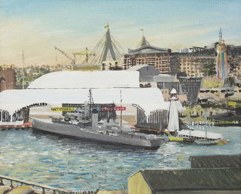 Konsttryck Sydney Maritime Museum, 1998,