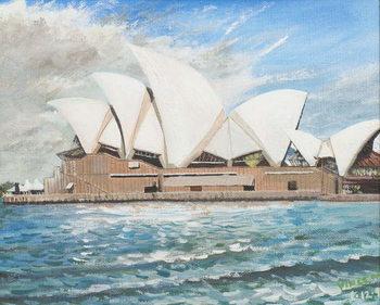 Konsttryck Sydney Opera House, 1998,