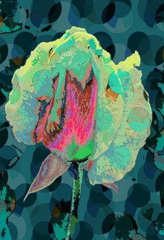 Konsttryck Tea Rose 4