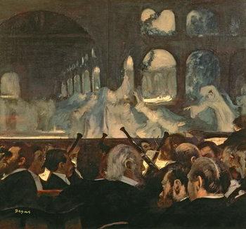 Konsttryck The ballet scene from Meyerbeer's opera 'Robert le Diable', 1876