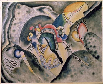 Konsttryck The Black Stroke, 1920
