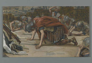 Konsttryck The Confession of the Centurion, illustration from 'The Life of Our Lord Jesus Christ', 1886-94