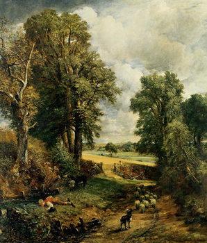 Konsttryck The Cornfield, 1826