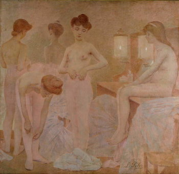 Konsttryck The Dancers, 1905-09