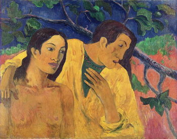Konsttryck The Flight or Tahitian Idyll, 1902