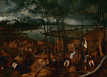 Konsttryck The Gloomy Day (early Spring), 1565