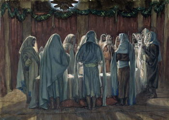 Konsttryck The Jew's Passover, illustration for 'The Life of Christ', c.1884-96