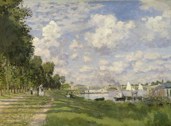 Konsttryck The Marina at Argenteuil, 1872