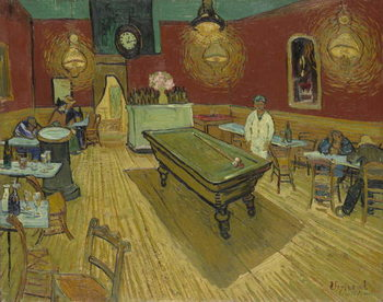 Konsttryck The Night Cafe, 1888