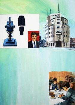 Konsttryck The Story of Radio
