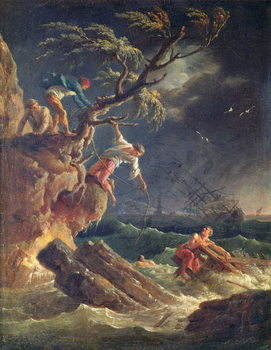 Konsttryck The Tempest, c.1762