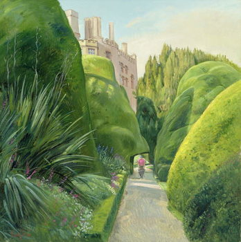 Konsttryck The Topiary Path, Powis Castle