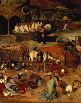 Konsttryck The Triumph of Death, c.1562 (panel)