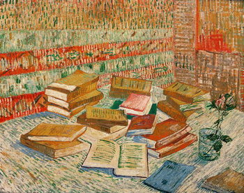 Konsttryck The Yellow Books, 1887