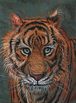 Konsttryck Tiger 2, 2014,