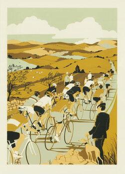 Konsttryck Tour de Yorkshire