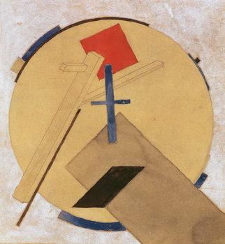 Konsttryck Untitled Proun Study, c.1919-20