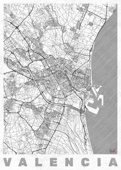 Karta över Valencia