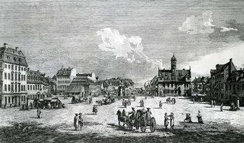 Konsttryck View of Dresden