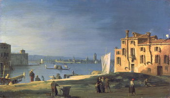 Konsttryck View of Venice