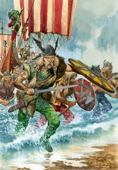 Konsttryck Vikings