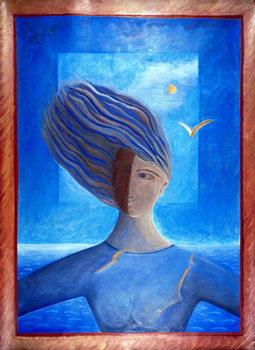 Konsttryck Zoe de la Mer, 1993