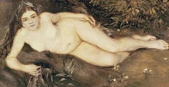 Konsttryck  A Nymph by a Stream, 1869-70