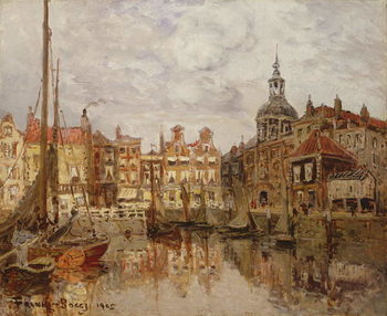 Konsttryck  A Port, 1905