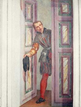 Konsttryck  A Servant at the Door, 1562