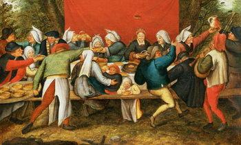 Konsttryck A Wedding Feast
