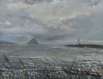 Konsttryck  Ailsa Craig from Arran, 2007,