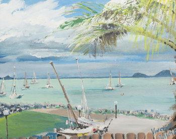 Konsttryck Airlie Beach, Australia, 1998,