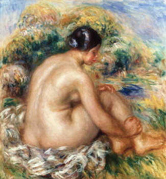 Konsttryck Bather, 1915